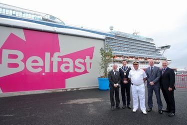 Belfast opens a dedicated cruise terminal