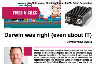 Darwin was right (even about IT). Interview with Chris Mason, Director of Sales – EMEA, Rajant Corporation
