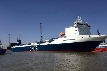 DFDS to upgrade its BE-ENG-NO service
