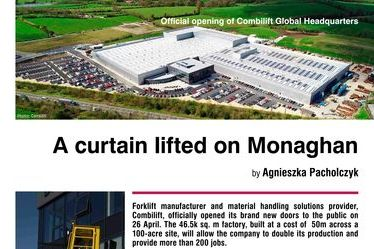 A curtain lifted on Monaghan. Official opening of Combilift Global Headquarters