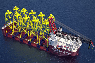 Kongsberg to tech-furnish OHT's first heavy lift vessel
