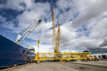 Grangemouth's new STS arrives