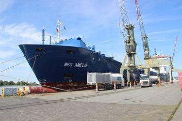 World's first LNG-retrofitted container ship