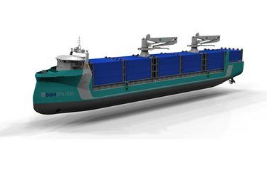 SeaShuttle autonomous zero-emission vessels
