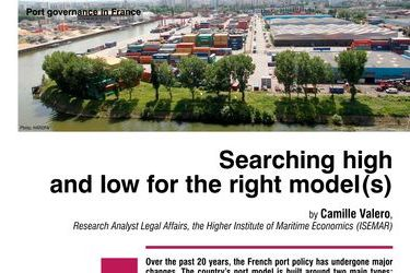 Searching high and low for the right model(s). Port governance in France