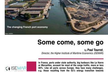 Some come, some go. The changing French port economy