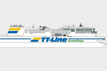 TT-Line invests in a green newbuild