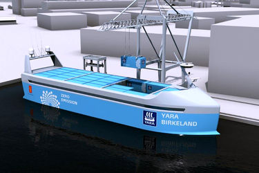 VARD to build the world's first autonomous and zero-emission container ship