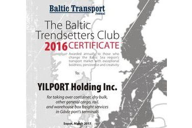 The Baltic Trendsetters Club 2016 Certificates #5