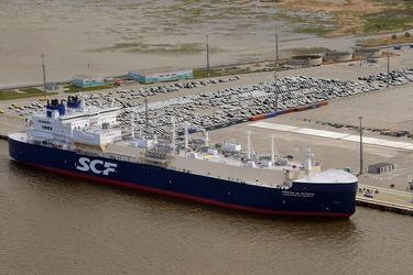 World's first ARC-7 class Arctic LNG tanker christened