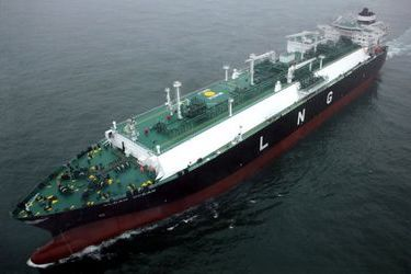 Lithuania's first LNG shipment from the US