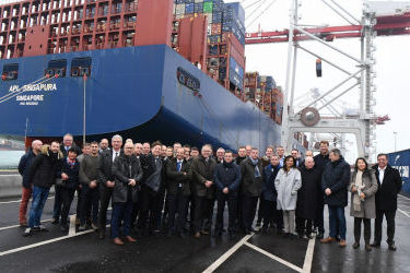 Inaugurating OPS at the Port of Dunkirk
