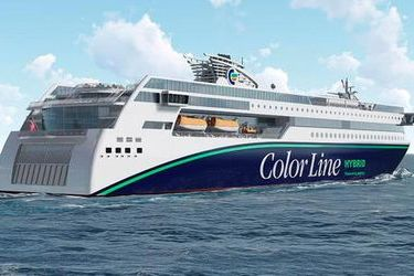 Color Line-Ulstein hybrid ferry LOI