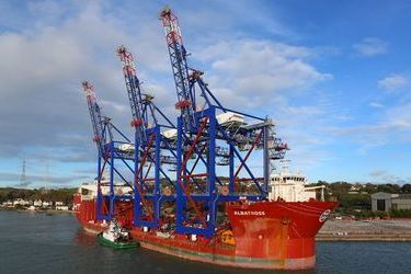 Liebherr's cranes delivered to Latin America