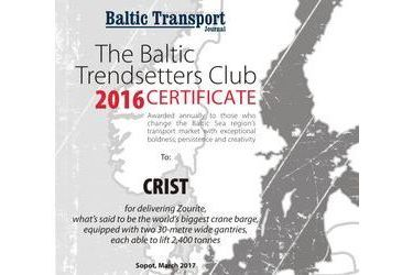 The Baltic Trendsetters Club 2016 Certificates #4