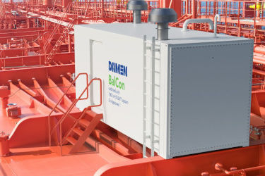 Damen's all-in-a-box BWT solution braces the waves