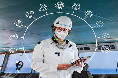 DNV GL launches new certification in infection prevention for the maritime industry