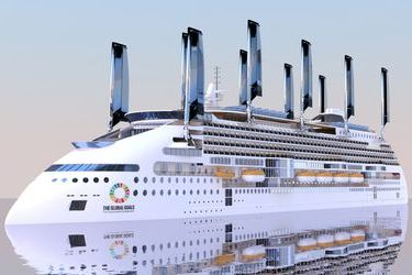 World's greenest cruise ship from the Baltic