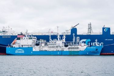 Zeebrugge's first ship-to-ship LNG bunkering