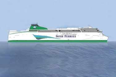 New cruise ferry for Irish Continental Group
