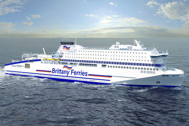 Brittany Ferries orders a gas-run ro-pax at FSG