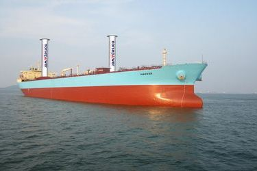 Flettener rotors to be installed on Maersk's tanker