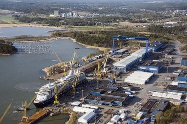 Meyer steel-invests in its Finnish shipyard
