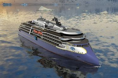 Ulstein to build a a polar expedition vessel
