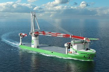 Wärtsilä to equip the world's first LNG-run offshore construction vessel