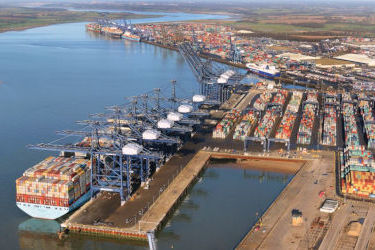 Cargo keeps flowing through Felixstowe despite COVID-19