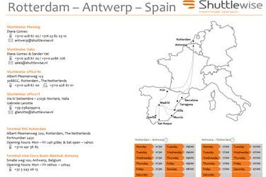 New Rotterdam-via Antwerp-to-Spain rail service