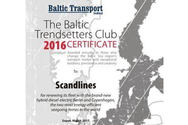The Baltic Trendsetters Club 2016 Certificates #2