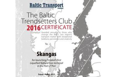 The Baltic Trendsetters Club 2016 Certificates #6