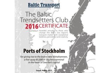 The Baltic Trendsetters Club 2016 Certificates #3