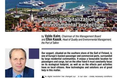 Tallinn's digitalization and environmental protection, HR E-Zine 1/2017