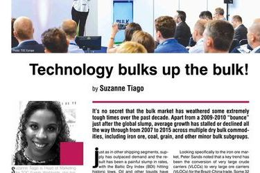 Technology bulks up the bulk! TOC Europe 2017, 27-29th of June, by Suzanne Tiago