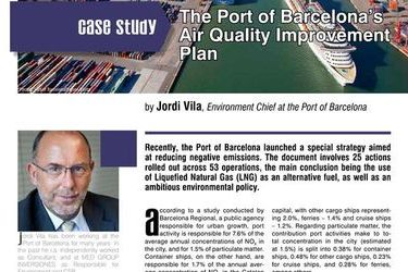 The Port of Barcelona's Air Quality Improvement Plan, HR E-Zine 1/2017