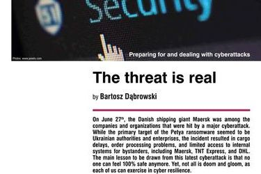 The threat is real. Preparing for and dealing with cyberattacks, by Bartosz Dąbrowski