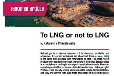To LNG or not to LNG. Supply-demand outlook for Liquefied Natural Gas, by Katarzyna Chmielewska