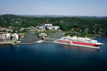 Fjord Line to build a brand-new terminal in Sandefjord
