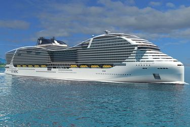 MSC Cruises orders LNG-powered vessels