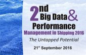 2nd Big Data & Performance Management in Shipping 2016