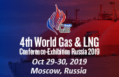 4th World Gas & LNG Conference-Exhibition Russia 2019