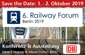 6th RAILWAY FORUM Berlin 2019
