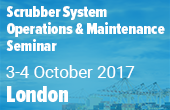 Scrubber Systems Operations and Maintenance Seminar