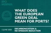 BPO Webinar on European Green Deal