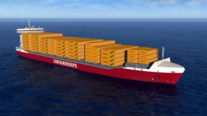 Containerships' LNG newbuild (photo: Containerships)
