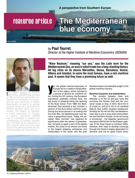 The Mediterranean blue economy