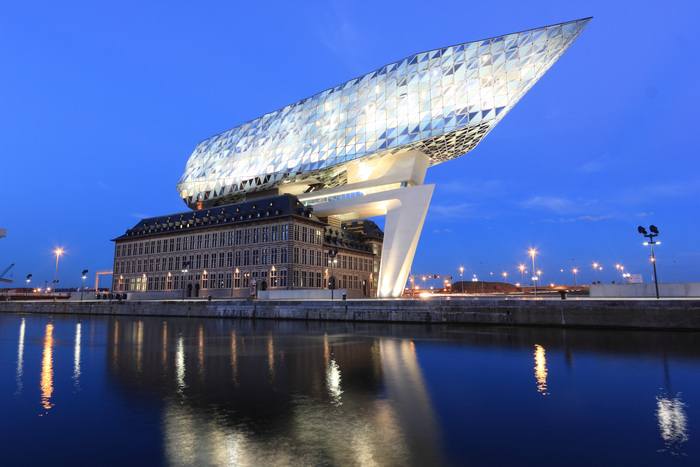 The Port of Antwerp's HQ (photo: pxhere.com)